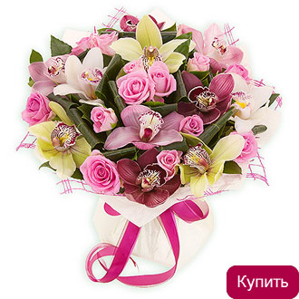 заказ цветов на дом