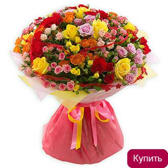 Букет роз за 500 рублей ижевск белых
